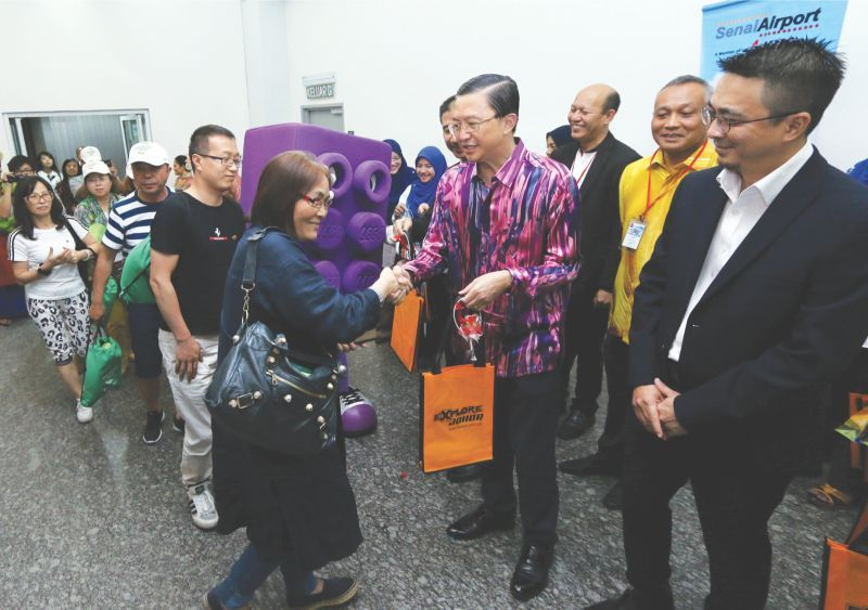 Johor aims for 1m China tourists this year with new flight route
